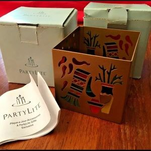 PartyLite Southwest Lights Metal Candle Holders